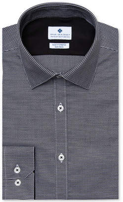 Ryan Seacrest Distinction Men's Ultimate Slim-Fit Non-Iron Performance Stretch Dobby Dress Shirt