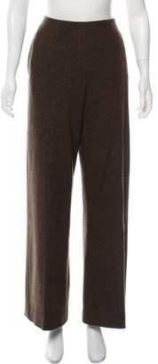 Haider Ackermann Wool High-Rise Pants