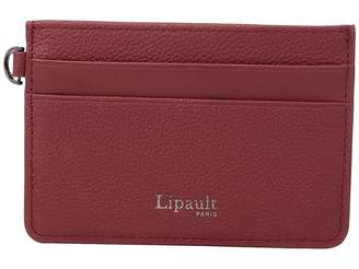 Lipault Paris Plume Elegance Leather Card Holder