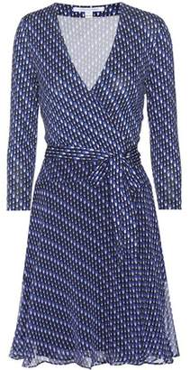 Diane von Furstenberg Irina printed silk dress