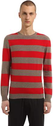 Annapurna Striped Cashmere & Wool Blend Sweater