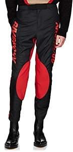 Givenchy Men's Logo Motocross Pants - Black