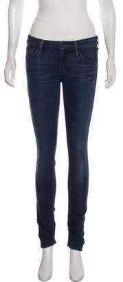 Mother Low-Rise Skinny Jeans