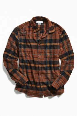 Urban Outfitters Long Sleeve Grindle Plaid Flannel Shirt