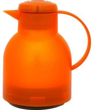 Emsa Samba Quick Press Vacuum Jug 1.0L, Orange