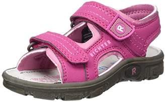 Richter Kinderschuhe Girls' Adventure Ankle Strap Sandals,10UK Child