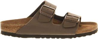 Birkenstock Arizona faux-leather sandals $63 thestylecure.com