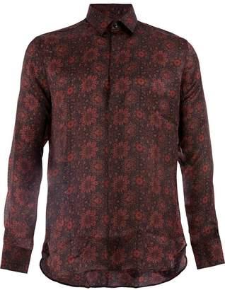 Saint Laurent patterned shirt