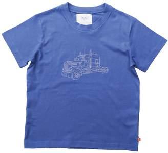 Mini Vanilla Boys navy T-shirt