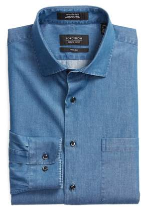 Nordstrom Trim Fit Denim Shirt