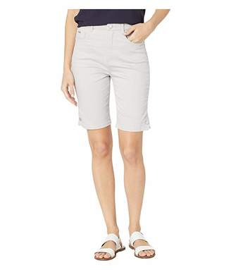 FDJ French Dressing Jeans Soft Hues Denim Suzanne Bermuda in Silver