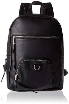 Pieces Pcsuni Backpack, Women's Backpack Handbag, Schwarz (), 15x37x29 cm (B x H T)