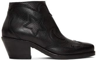McQ Black Solstice Ankle Boots