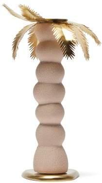 L'OBJET L'Objet Lobjet - X Haas Brothers Mojave Palm Candlestick - Pink