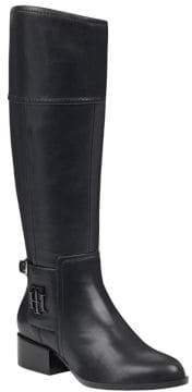 Tommy Hilfiger Mani Wide Calf Riding Boots