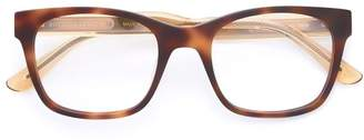 Bottega Veneta square frame glasses