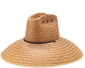 Peter Grimm Sebastian Life Guard Oversized Straw Sun Hat