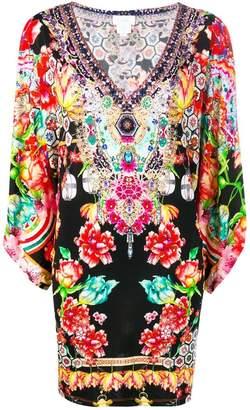 Camilla double layer kaftan dress