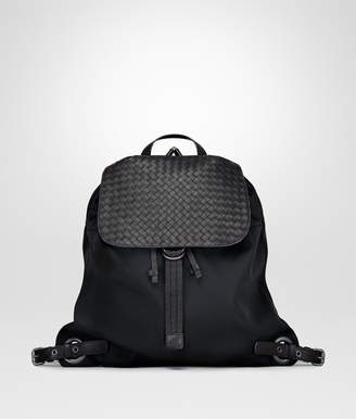 Bottega Veneta NERO TECHNICAL CANVAS BACKPACK