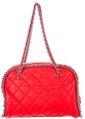 Chanel Chain Around Bowler Bag Red Chain Around Bowler Bag