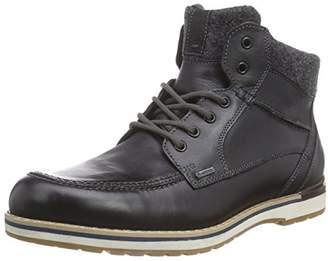 Fretz Men Mens 1310.2971 Warm Lined Classic Boots Short Length Black Size: 9 UK