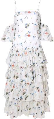 VIVETTA off shoulder ruffled dress