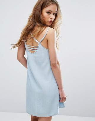 RVCA Cami Dress With Harness Strapping