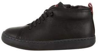 Camper Boys' Leather High-Top Sneakers