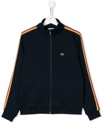 Lacoste Kids TEEN zipped sweatshirt