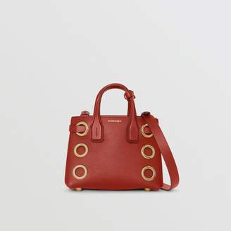Burberry The Baby Banner in Grommeted Leather