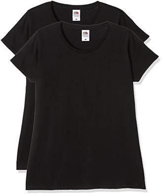 6e3e91df Fruit of the Loom Women's Ladies Sofspun T Vest Top