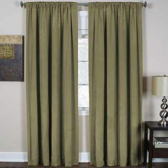 Elrene Cachet 3-in-1 Rod-Pocket/Back-Tab/Tab-Top Curtain Panel