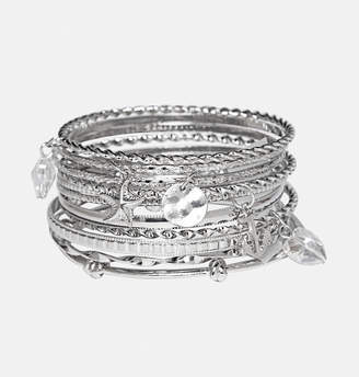 Avenue Charm Bangle Bracelet Set