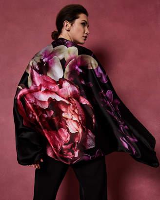Ted Baker KKATTE Splendour silk cape scarf