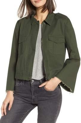 BB Dakota Jennie Cotton Twill Army Jacket