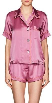Araks Women's Shelby Silk Charmeuse Pajama Top - Rose
