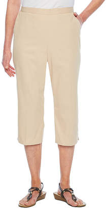 Alfred Dunner Classics High Waisted Capris