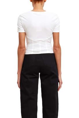 Callipygian Bustier T-Shirt