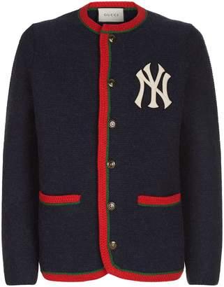 Gucci NY Yankees Cardigan