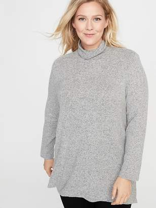 Old Navy Relaxed Plus-Size Plush-Knit Turtleneck