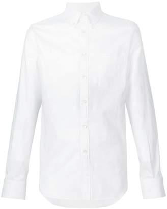 Alexander McQueen skull jacquard button down shirt
