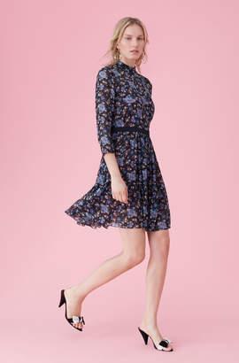 Rebecca Taylor Solstice Floral Clip Dress