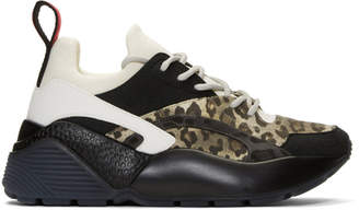 Stella McCartney Black and White Eclypse Trainers