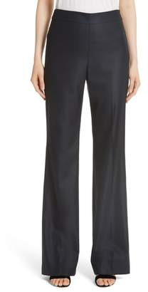 St. John Stretch Bird's Eye Suiting Pants