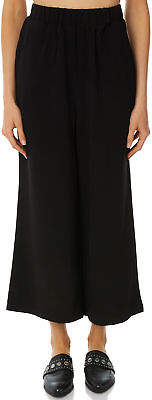 Dr. Denim New Women's Womens Abel Trousers Polyester Elastane Black