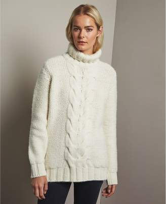 AG Jeans The Inez Cable Sweater
