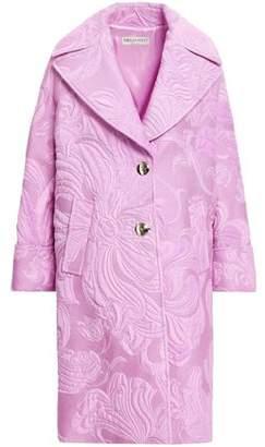 Emilio Pucci Cotton-blend Brocade Coat