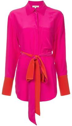 Sykes belted shirt