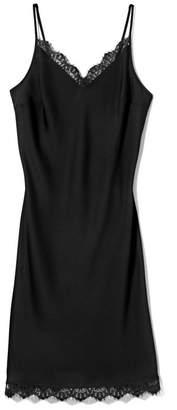 Vince Camuto Lace-Trimmed Slip Dress