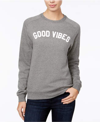 Sub Urban Riot Good Vibes Graphic Sweatshirt $58 thestylecure.com